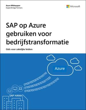 Inzetten van SAP on Azure voor bedrijfstransformatie